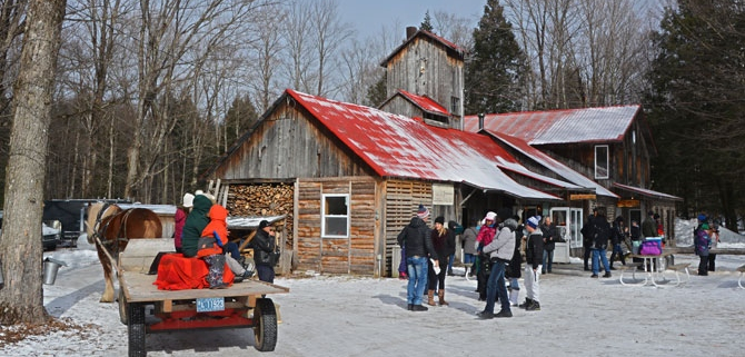 cabane à sucre Québec